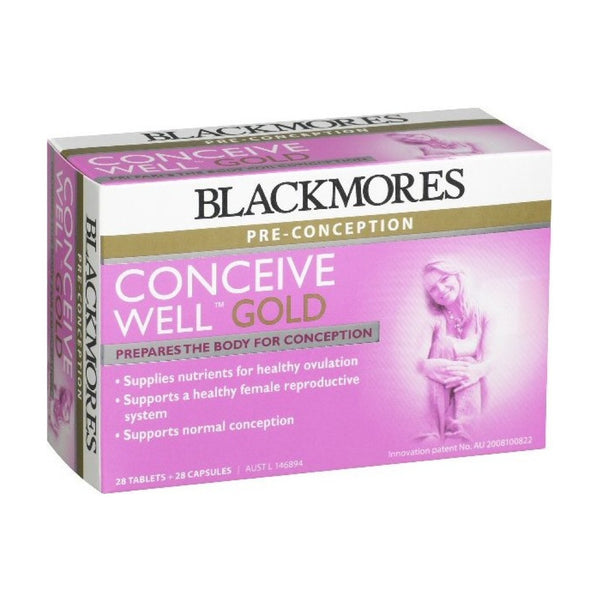 Blackmores Conceive Well Gold, 28s+28s
