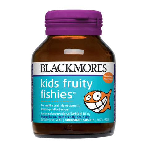 Blackmores Kids Fruity Fishies, 30s