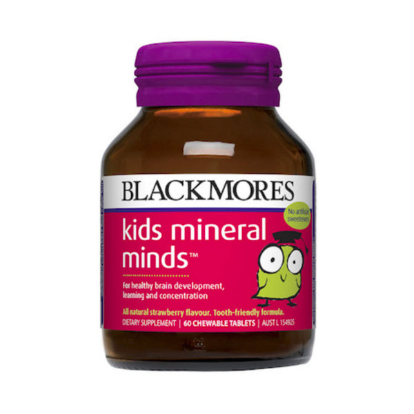 Blackmores Kids Mineral Minds™, 60s