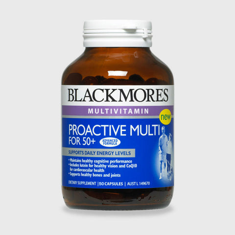 Blackmores Proactive Multi for 50+, 50s