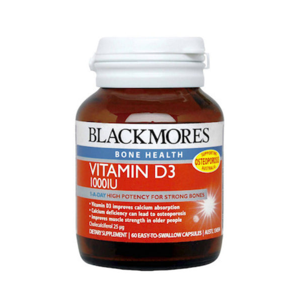 Blackmores Vitamin D3 1000iu, 60s