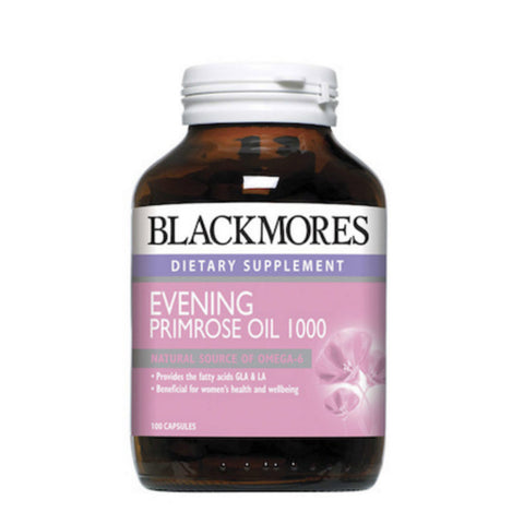 Blackmores Evening Primrose Oil 1000mg, 100s/200s