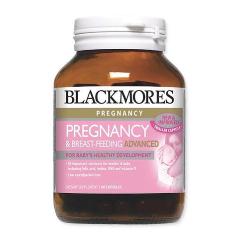 Blackmores Pregnancy & Breast-Feeding Advanced, 60s/120s