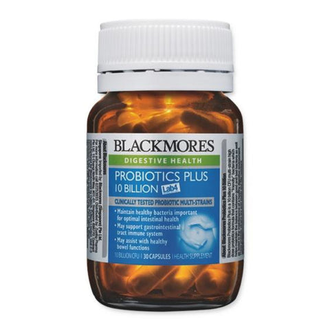 Blackmores Probiotics Plus 10 Billion, 30s