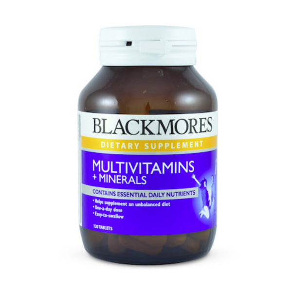 Blackmores MultiVitamins + Minerals, 120s