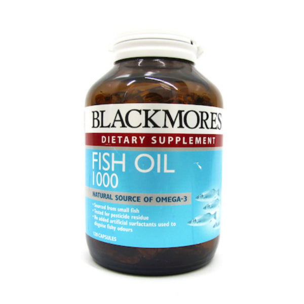 Blackmores Fish Oil 1000, 120s