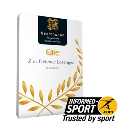 Healthspan Elite Zinc Defence Lozenges 45s