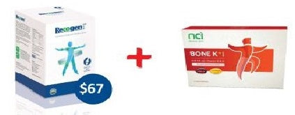 Recogen Calcium and Bone K+ bundle