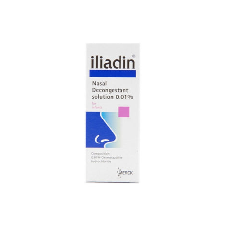 iliadin nasal decongestant drops (Infant)