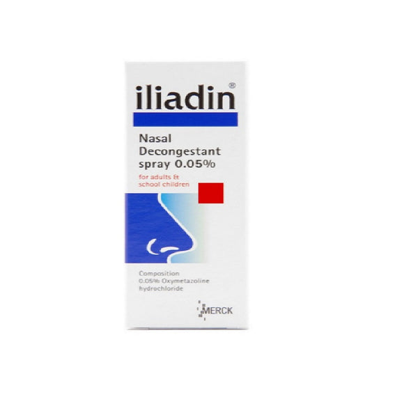 iliadin nasal decongestant spray (Adult)