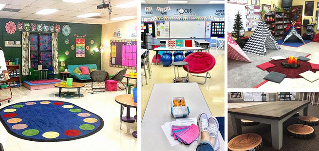 Classroom Layout Ideas Primary School ~ Awesome flexible seating classrooms that ll blow your
