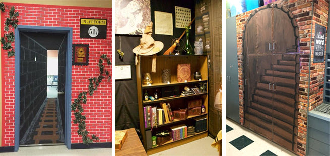 Maths Classroom Decoration Ideas ~ Harry potter themed classrooms that ll blow you away