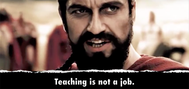 300 Spartans Portrayed as Teachers in HILARIOUS Video