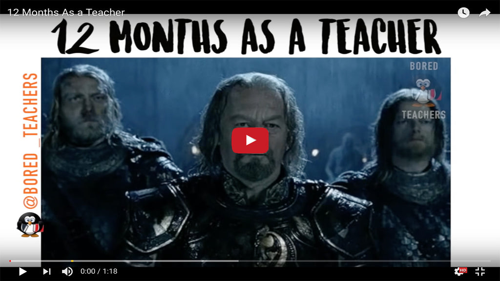 12 Months In The Life of a Teacher