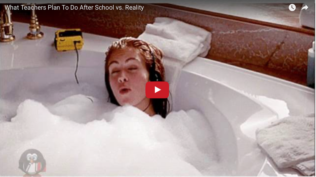 What Teachers Plan To Do After School vs. Reality