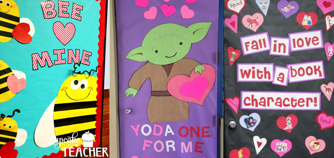 31 Adorable Valentine's Day Doors for Your Classroom