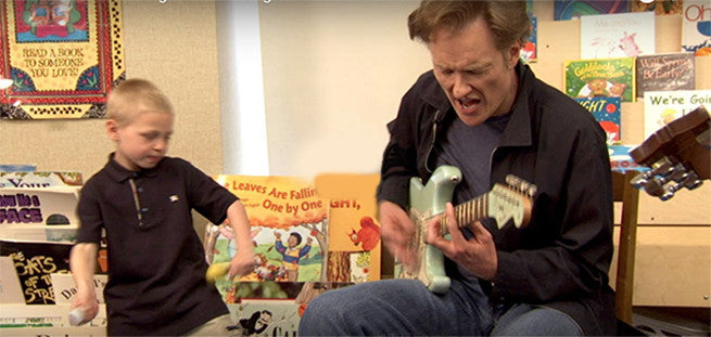Conan's Classroom Blues Songs are the Funniest Thing Ever