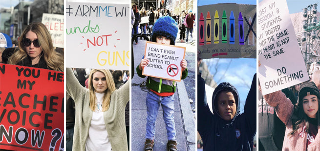 20 Most Powerful Images of Teachers & Students From the March For Our Lives
