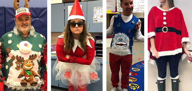 25 Festive Teachers Who Took the Holiday Spirit to Another Level
