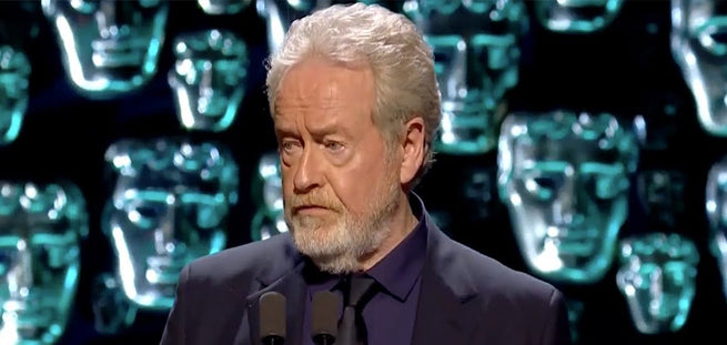 Sir Ridley Scott Says Teaching is the Most Important of All Professions