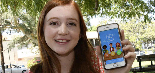 Bullied Teenager Invents App To Help Lonely Kids