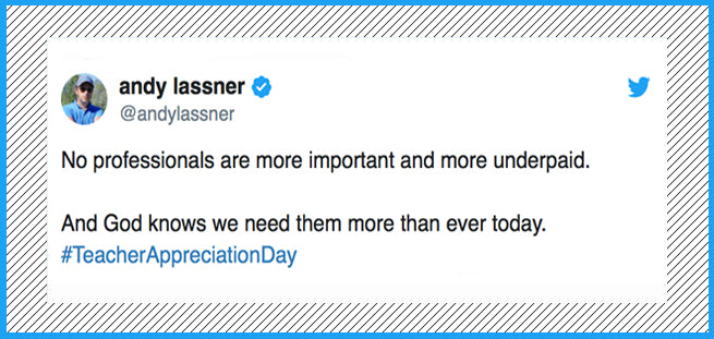 17 Tweets About Teacher Appreciation That Don't Sugarcoat Reality