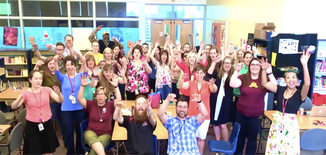 "Hilarious End of the Year Teacher Parody: ""Be Humble, Raise Your Hand, Sit Down."""