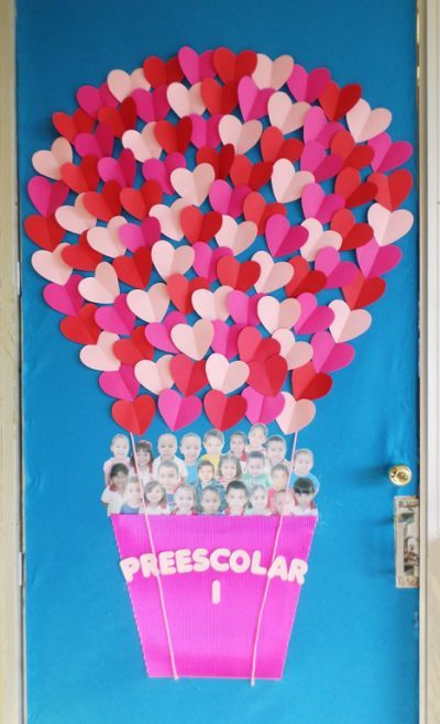 Adorable Valentine's Day Doors for Your Classroom_5_Bored Teachers