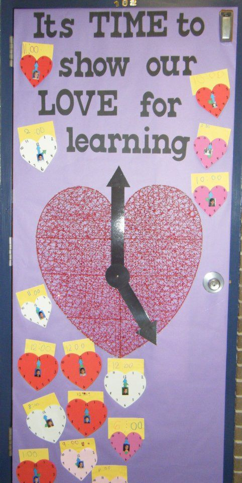 Adorable Valentine's Day Doors for Your Classroom_19_Bored Teachers