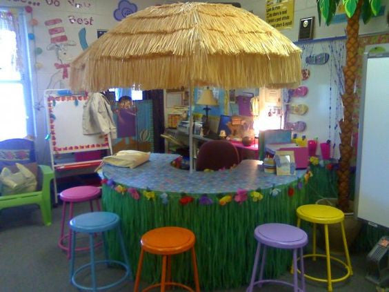 Tiki guided reading table