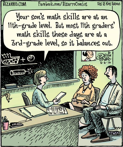 Bizarro teacher comics_Bored Teachers 27