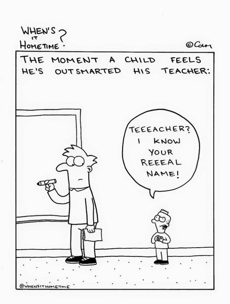when's it hometime? comics bored teachers 14
