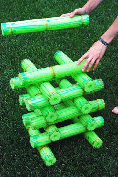 BAMBOO STYLE POOL NOODLE STACKING GAME - Bored Teachers