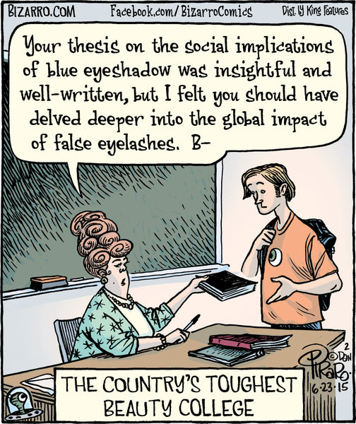 Bizarro teacher comics_Bored Teachers 21