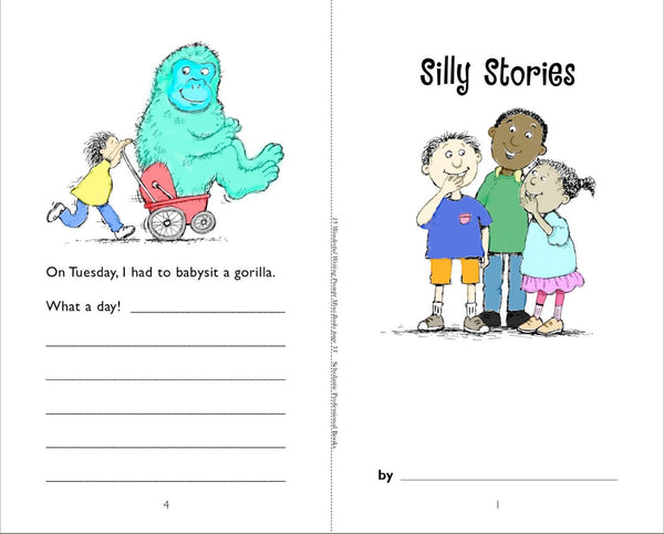 Scholastic Printables Silly Stories 1