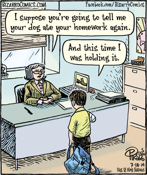 Bizarro teacher comics_Bored Teachers 8