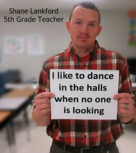 dancing in the halls - Bored Teachers