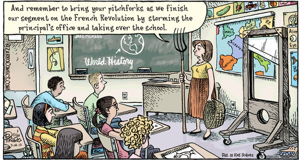Bizarro teacher comics_Bored Teachers 15