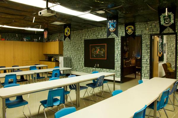 Harry Potter Classroom Decoration ~ Harry potter themed classrooms that ll blow you away