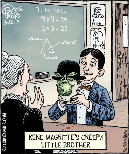 Bizarro teacher comics_Bored Teachers 14