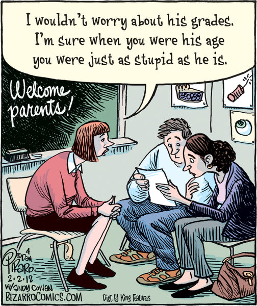 Bizarro teacher comics_Bored Teachers 12
