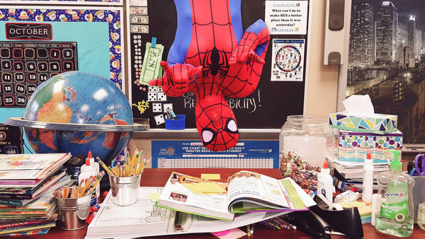 spiderman teacher teacher life photos_Bored Teachers