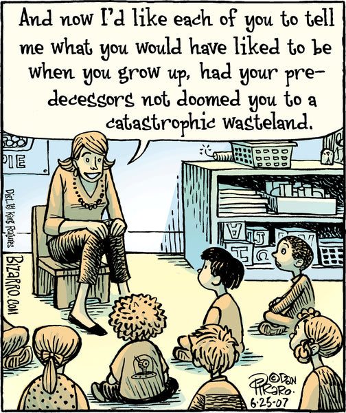 Bizarro teacher comics_Bored Teachers 4