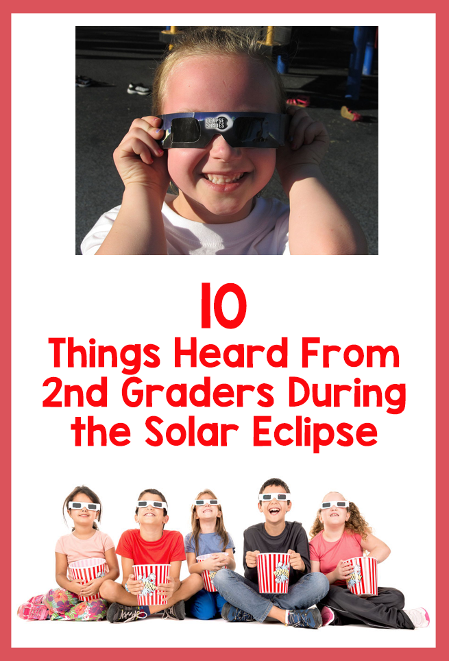 2nd graders solar eclipse_featured image_Bored Teachers