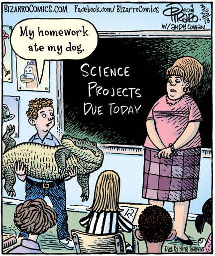 Bizarro teacher comics_Bored Teachers 35