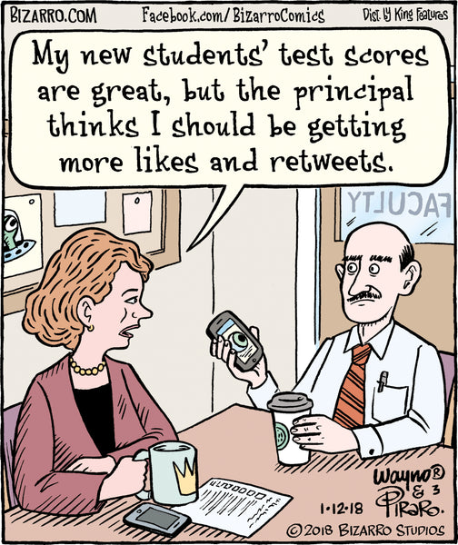 Bizarro teacher comics_Bored Teachers 31
