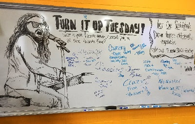 whiteboard drawings