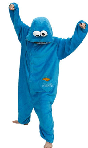 cookie monster onesie bored teachers 2