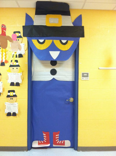 Thanksgiving door ideas for your classroom_8_Bored Teachers