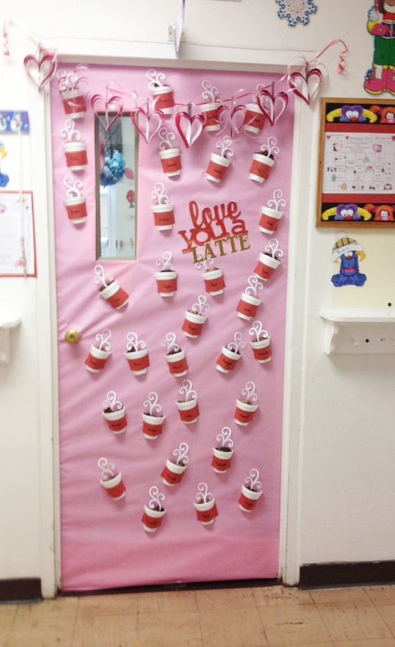 Adorable Valentine's Day Doors for Your Classroom_4_Bored Teachers